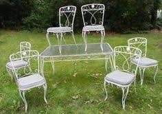 Vintage Woodard Patio Chairs by Wrought Iron Patio Furniture U2013 Etsy Vintage Wrought Iron Patio