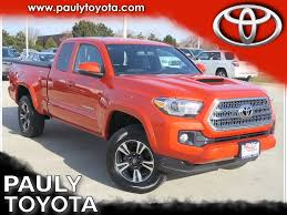 100 Used Toyota Tacoma Trucks For Sale PreOwned 2017 TRD Sport 4D Access Cab In Crystal Lake