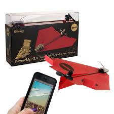 Smartphone Controlled Paper Airplane Paper Drone