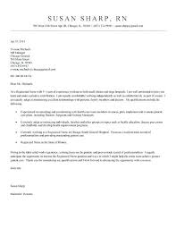 Examples Of Cover Letters And Resumes Also Letter Example For Resume Healthcare