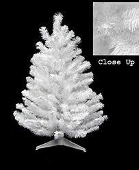 3 Snow White Pine Artificial Christmas Tree