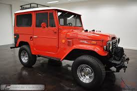 Classic Toyota Land Cruiser Fj40, 4 Wheel Drive Trucks For Sale ...
