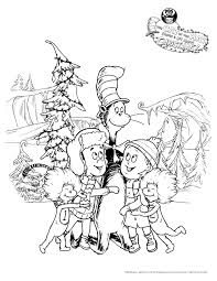 The Cat In Hat Knows A Lot About Christmas DVD PartyPrintable Coloring