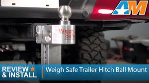 1997-2017 Ford F-150 Weigh Safe Trailer Hitch Ball Mount - 6