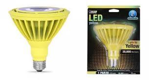 yellow par38 led spot light bulb outdoor 10 watts