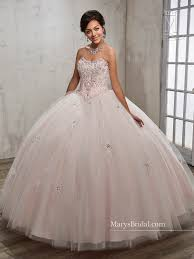 beaded strapless quinceanera dress by mary u0027s bridal beloving 4808
