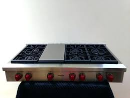 Wolf Stove Top April Piluso Intended For Contemporary Residence Wolf 48 Gas Cooktop Ideas