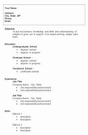 Resume Example For College Student 10 Template Sample Examples