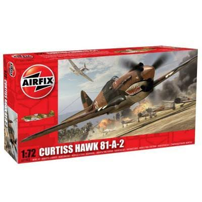 Airfix Model Kit - Curtiss Hawk 81-A-2
