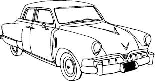 Hot Cars Coloring Pages Vintage