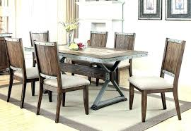 Industrial Dining Room Chairs Style Table Set