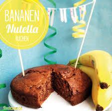 bananen nutella kuchen