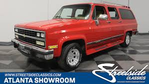 1985 Chevrolet Suburban | Streetside Classics - The Nation's Trusted ... The 1968 Chevy Custom Utility Truck That Nobodys Seen Hot Rod To 1972 Chevy Pickup For Sale Best Car 2018 Central Sales Classics Chevrolet Automobiles Short Wide Pickup Restoration Call Price Or Questions Trucks For Sale Dennis Parts Chevrolet Trucks Related Imagesstart 0 Weili Automotive Network Chevy 4x4 On Hwy 15 Outside Watkinsville Ga Pete C10 Cst Longbed Frame Off No Dents Matt Kenner Total Cost Involved 19blazer70 1970 Blazer Specs Photos Modification Info At Decode Your Vin Code Gmc Truck