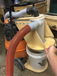 Cyclonic Dust Collection Bucket - Projects - Inventables Community ... Dust Collection Fewoodworking Woodshop Workshop 2nd Floor Of Garage Collector Piping Up The Ductwork Youtube 38 Best Images On Pinterest Carpentry 317 Woodworking Shop System Be The Pro My Ask Matt 7 Small For Wood Turning And Drilling 2 526 Ideas Plans