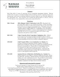 Office Manager Resume Samples Roofing Building Laborer Example Good