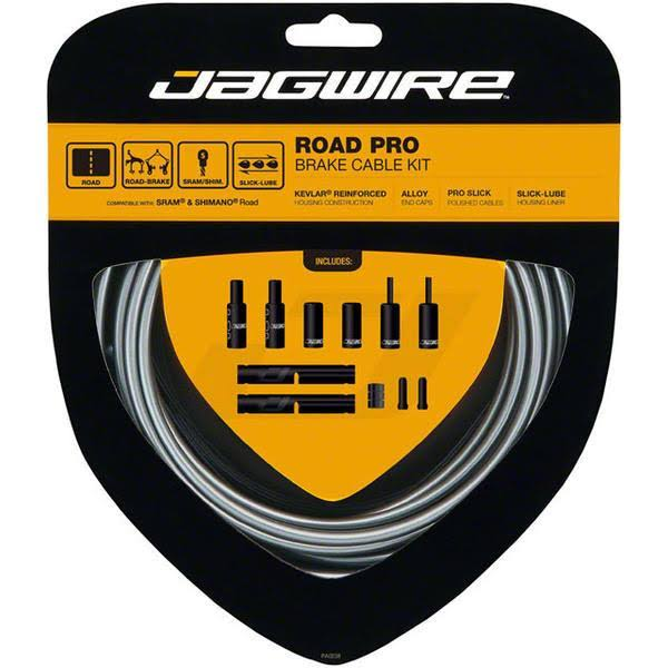 Jagwire Road Pro Brake Cable Kit - Ice Gray