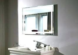 lighted vanity wall mirror large size of lighted magnifying
