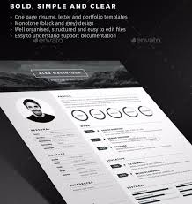 28 Minimal Creative Resume Templates
