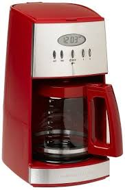 Hamilton Beach 12 Cup Coffee Maker With Glass Carafe Ensemble Red 43253RA