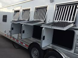 4H With Heavy Duty Aluminum Drop Down Windows And Bars, Escape Door ...