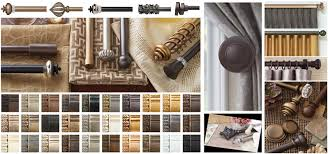 Double Traverse Wood Curtain Rod by Paris Texas Hardware Has Curtain Rods Drapery Rods Finial Ideas