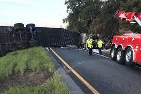 100 Truck Ramp Semi Truck Crashes On I75 Exit Ramp Killing Driver