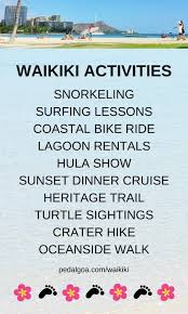 Waikiki Activities Travel Guide List Of Best Things To Do In One Week