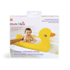 Portable Bathtub For Adults Canada by Munchkin White Inflatable Duck Tub Amazon Ca Baby