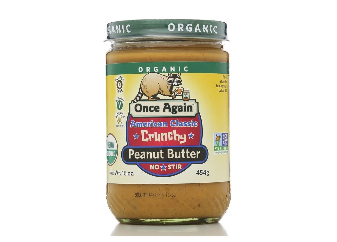 Once Again Organic American Classic Crunchy Peanut Butter - 16 Oz