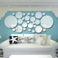 26pcs 3d home spiegel fliesen mosaik wand sticker