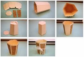 Bits Of Paper 3D Vases