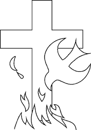 Click To See Printable Version Of Holy Spirit Coloring Page