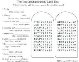 Bible Coloring Pages Moses Ten Commandments Tablet For
