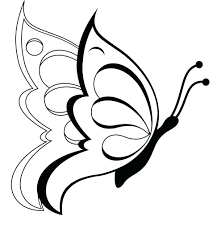 Free Printable Coloring Pages Flowers And Butterflies Butterfly For Kids Full Size
