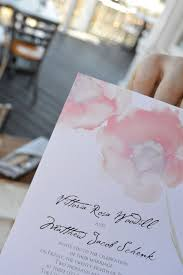 Watercolor Wedding Invitations From By Davids Bridal