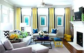 Brown And Blue Lounge Ideas Yellow Living Room Gray Grey
