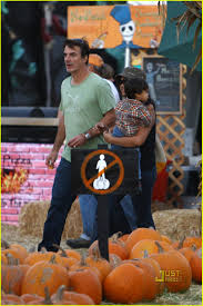 Busta Rhymes Halloween Trick Or Treat by Chris Noth Pumpkin Picking With Orion Photo 2312341 Celebrity