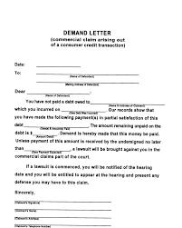 Free Demand Letter Sample PDF 25KB