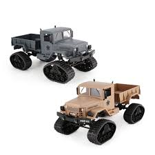 100 4wd Truck JJRC 116 4WD Military RC Army 24Ghz Light Caterpillar Off