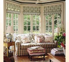 kitchen bay window treatments innards interior