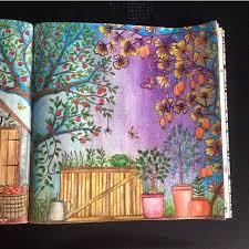 Jardin Secreto Inspiracion Secret Garden Book Inspiration Jardim Colored Pencil DrawingsColored PencilsPen