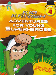 Dive Into The World Of Kid Krrish With Puzzles Word Games Colouring Activities And Lots More Youre In For A Fantastic Time