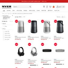15% Off Bose Products @ Myer And Myer EBay - OzBargain