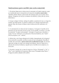 Calaméo Instrucciones Para Escribir Una Carta Comercial