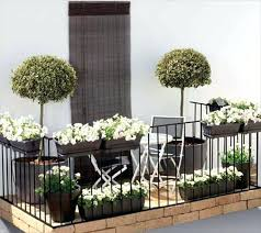 Flowers On Balcony Ideas Small Garden