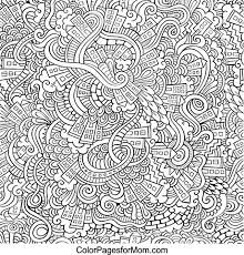 Doodles 30 Coloring Page