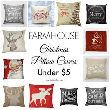 Menards Christmas Tree Skirts by Looking For Christmas Pillows Covers That Fit Your Farmhouse Decor
