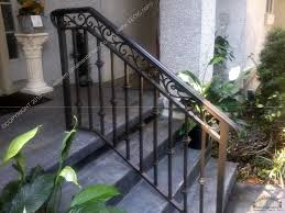Best Ideas Of Porch And Step Rails With Outdoor Banister Railing ... Outdoor Wrought Iron Stair Railings Fine The Cheapest Exterior Handrail Moneysaving Ideas Youtube Decorations Modern Indoor Railing Kits Systems For Your Steel Cable Railing Is A Good Traditional Modern Mix Glass Railings Exterior Wooden Cap Glass 100_4199jpg 23041728 Pinterest Iron Stairs Amusing Wrought Handrails Fascangwughtiron Outside Metal Staircase Outdoor Home Insight How To Install Traditional Builddirect Porch Hgtv