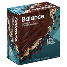 Balance Cookie Dough Nutrition Bar