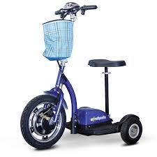 E Wheels EW 18 Stand N Ride 3 Wheel Electric Mobility